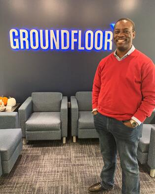 Meet Trone Jefferson, Account Executive at GROUNDFLOOR.
