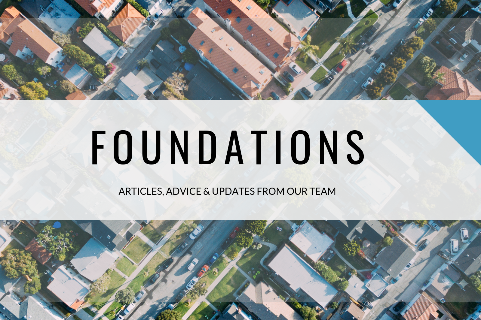 Foundations Blog Header
