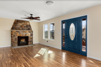 A gorgeous entryway designed by Julian and his team.
