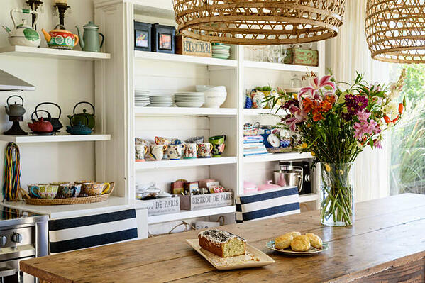 Open shelving is a popular home renovation trend that is sure to remain en vogue in 2019.