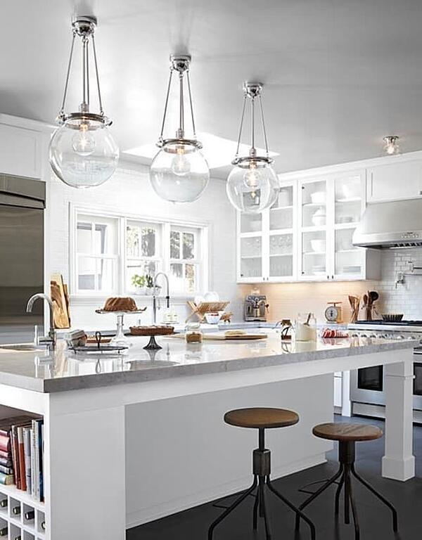 Switch up your normal lighting routine by adding in unique, vintage-inspired fixtures to your next renovation project.